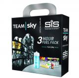 【英国原装限量】SIS马拉松骑行跑步能量胶 TEAM SKY天空车队3小时骑行能量胶套装 配送补给水壶
